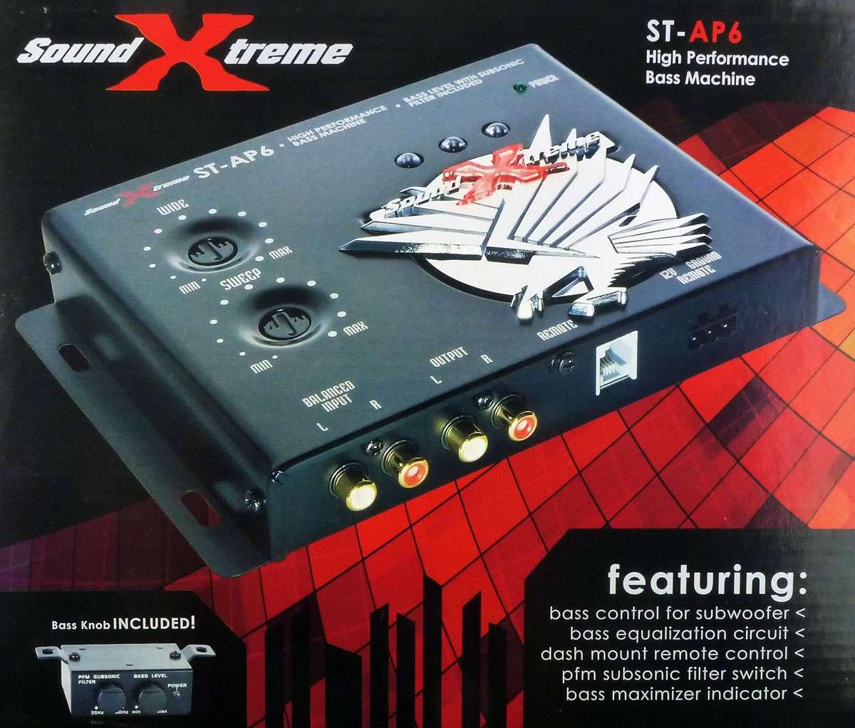 soundstream bass machine