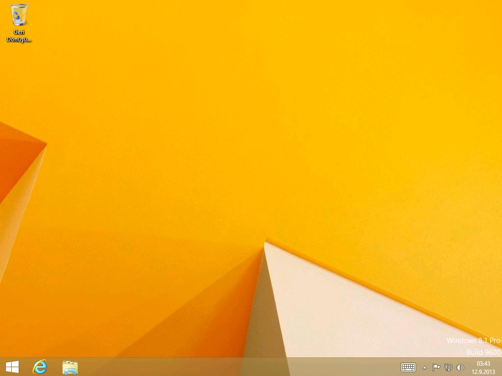 Windows 8.1 Final MSDN Turkce (32bit-64bit)