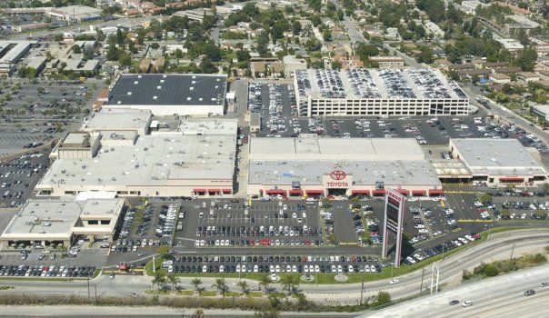 The Largest Toyota Dealership Of The World Longo Toyota Only Cars And Cars