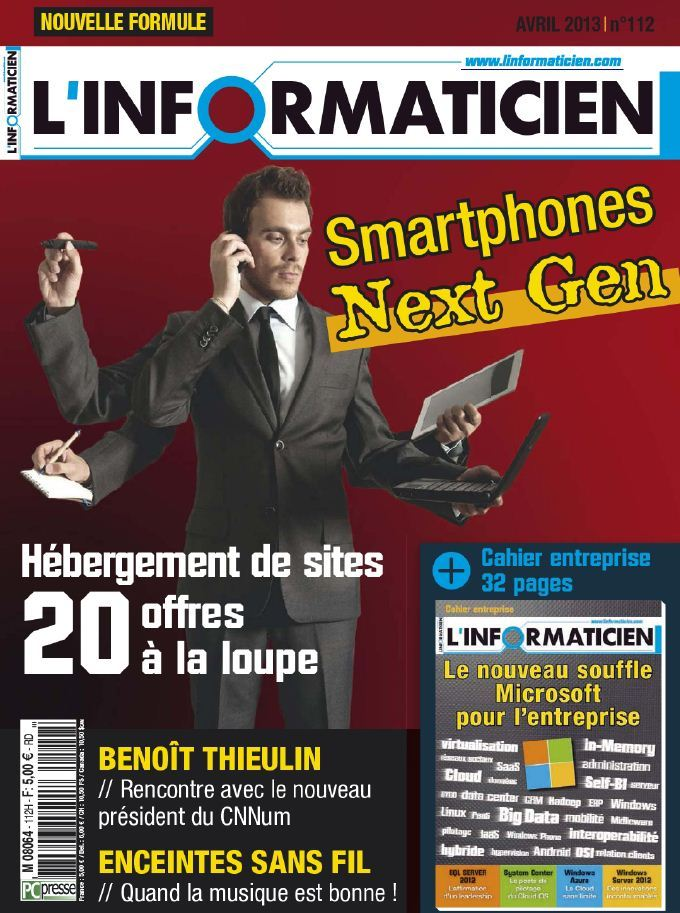 L'Informaticien N°112 Avril 2013