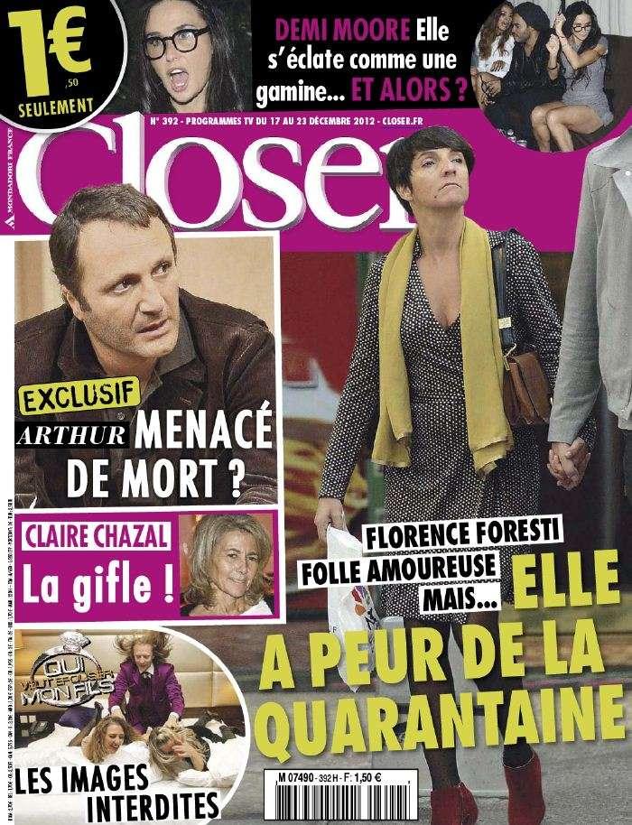 Closer N°392 du 15 au 21 Décembre 2012