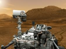This artist concept features NASA&#39;s<br /> Mars Science Laboratory Curiosity<br /> rover, a mobile robot for investigating<br /> Mars&#39; past or present ability to<br /> sustain microbial life.<br /> Image credit: NASA/JPL-Caltech&nbsp;&nbsp;&nbsp;&nbsp;<br /> <a href='http://www.nasa.gov/mission_pages/msl/multimedia/gallery/pia14175.html' class='bbc_url' title='External link' rel='nofollow external'>� Full image and caption</a>