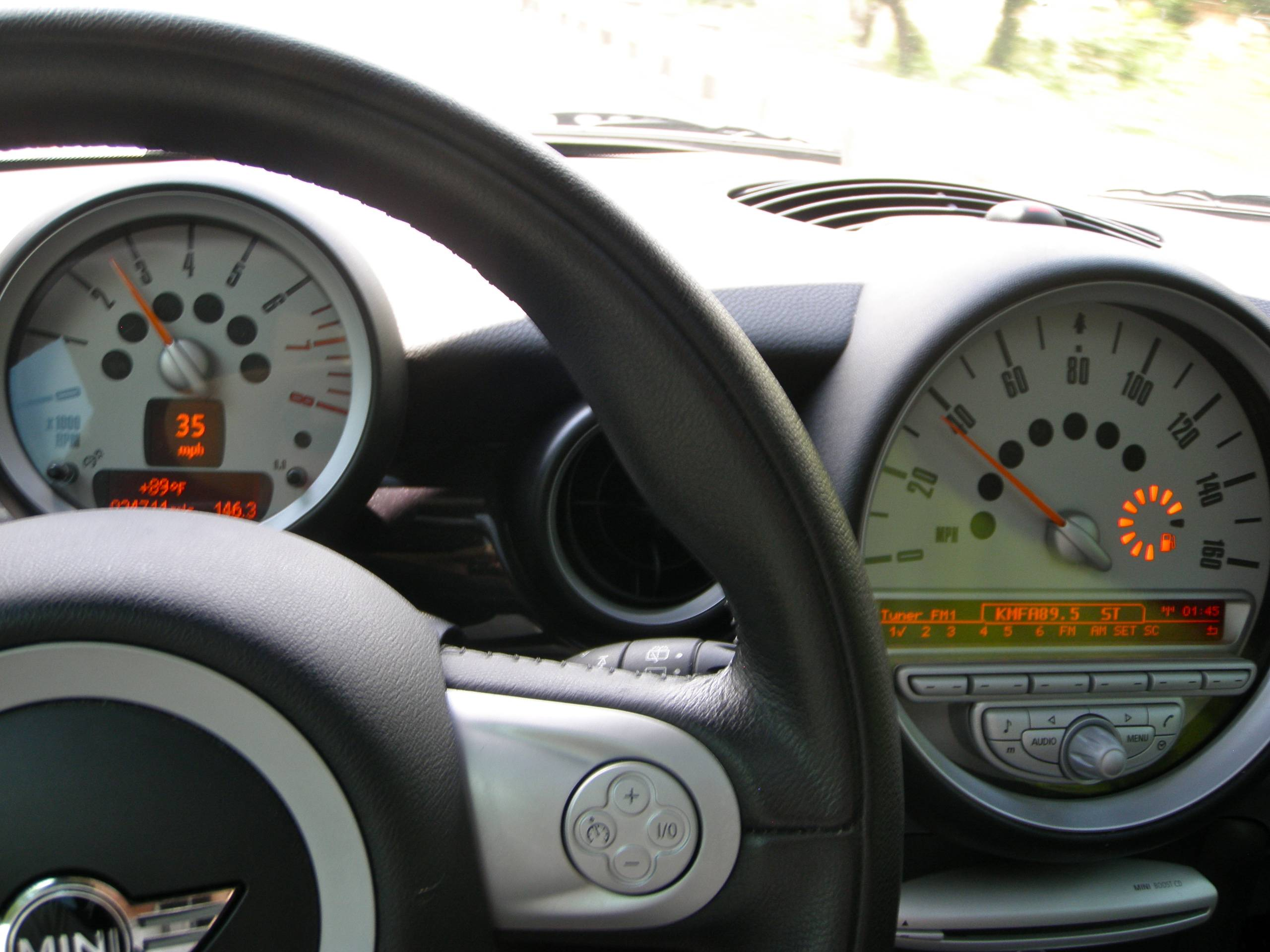 fuel gauge readings north american motoring. Black Bedroom Furniture Sets. Home Design Ideas