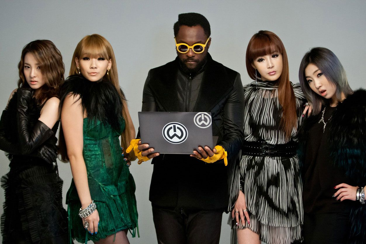 [MP3] 2NE1 & will.i.am - Take The World On - Intel Ultrabook Project (Seoul)