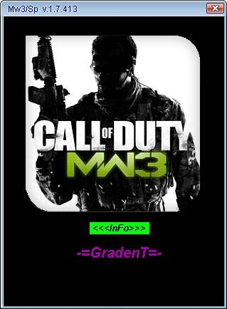 Callofdutymodernwarfaren Call of Duty: Modern Warfare 3 1.7.413 +14 Trai