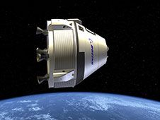 Image above: This is an artist&#39;s concept<br /> depicting the CST-100 under development<br /> by The Boeing Company of Houston for<br /> NASA&#39;s Commercial Crew Program (CCP).<br /> Image credit: The Boeing Company <br /> <a href='http://www.nasa.gov/images/content/721781main_CST-100.jpg' class='bbc_url' title='External link' rel='nofollow external'>� View Larger Image</a>