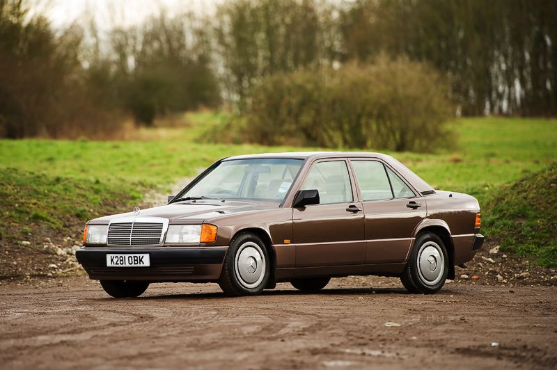 More Brown Mercedes 190 Action Now With Even More Pics
