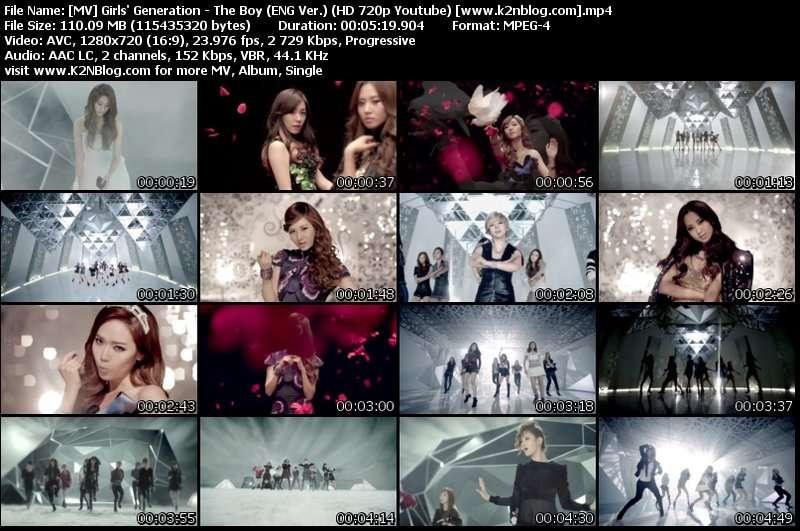 MV Girls' Generation - The Boy (ENG Ver.) HD Thumbnail